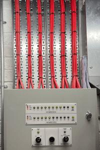 Fire Alarm Damper Panel